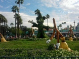Stop, Look, and Listen: a Disneywalk