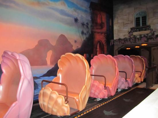 disney little mermaid ride