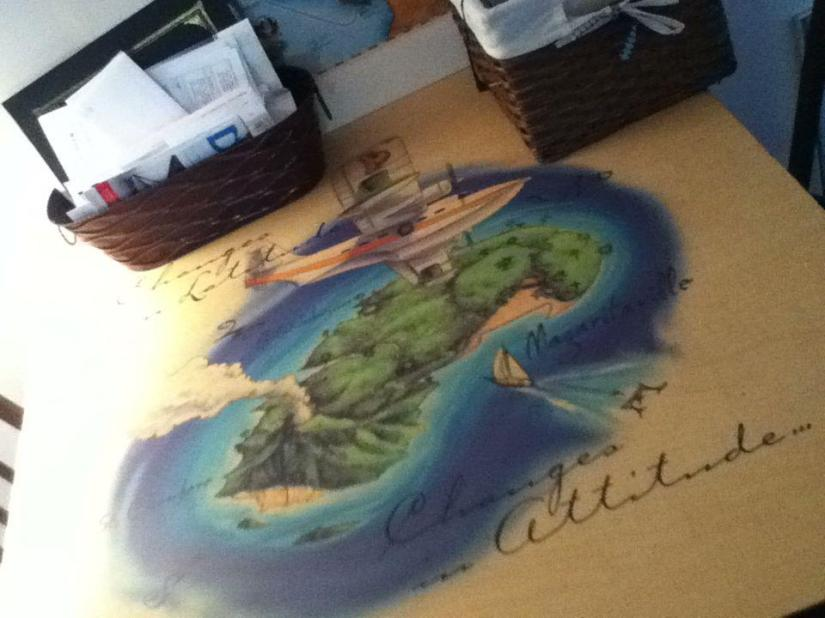 margaritaville table