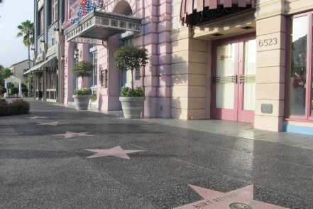 universal studios florida hollywood walk of fame