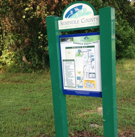 wekiva trail sign