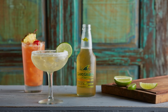5 O'Clock Somewhere. Perfect Margarita . LandShark . Credit - Michael St John