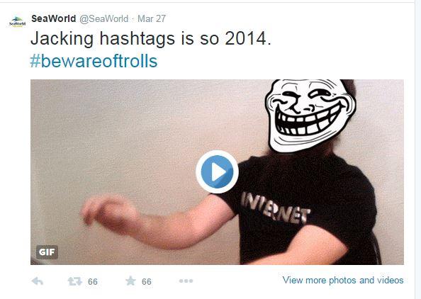 jacking hashtags