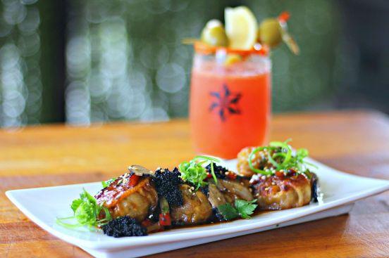 Pork Dumplings & Dragon Estrella Cocktail_preview
