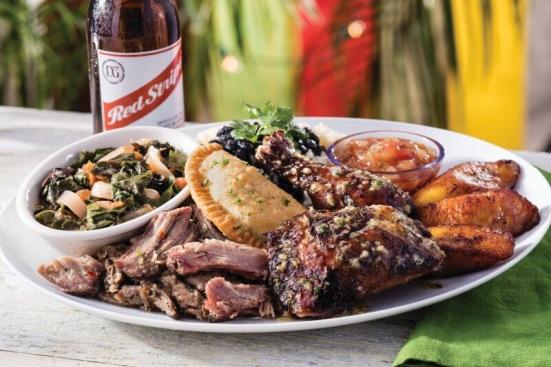 Bahama Breeze Reggae Fest- taste of Jamaica plate